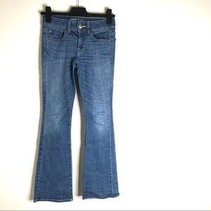 AEO Kick Boot Super Stretch Jeans